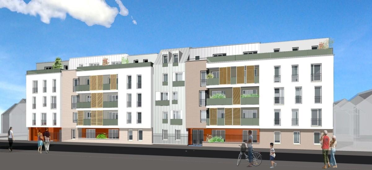 Construction d un immeuble de 108 logements bim for Cout de construction immeuble